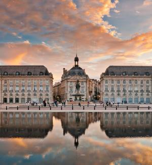 Walking Through Bordeaux